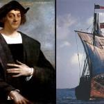 Christopher-Columbus-Image-and-Ship
