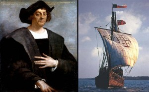 Christopher-Columbus-Image-and-Ship