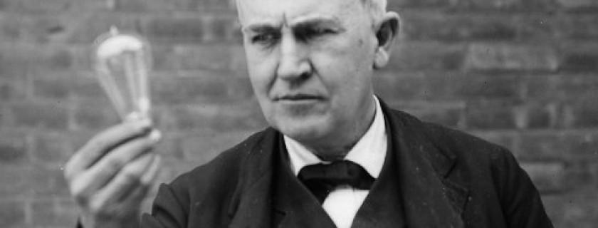 Thomas Edison - nhà phát minh lỗi lạc của nhân loại